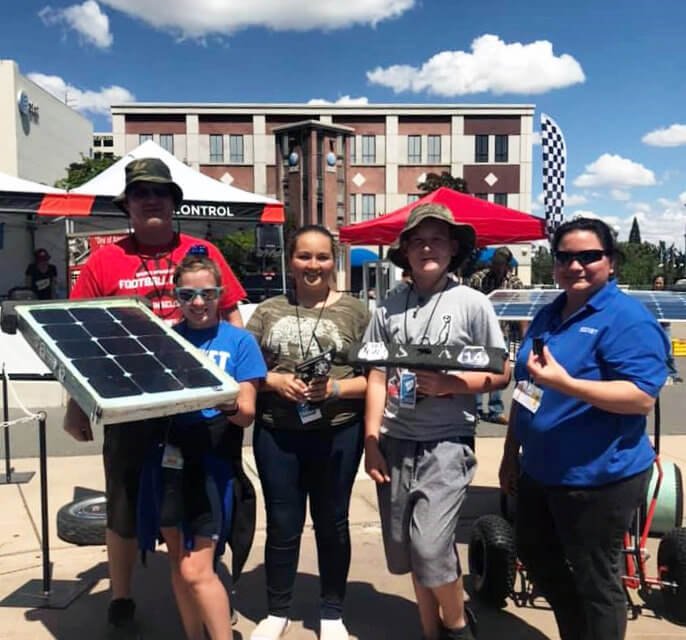 Hawthorne junior high Solar Rollers place fifth at Reno race