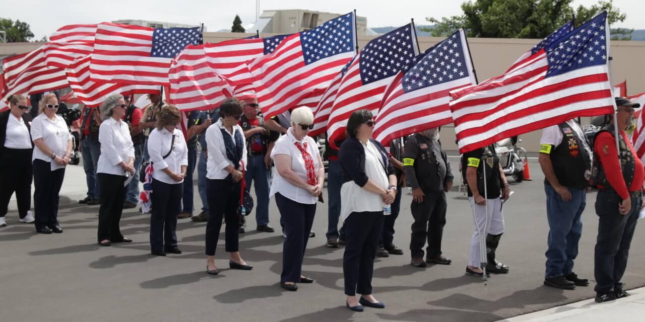 Nevada Dedicates Gold Star Memorial to Families