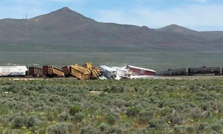 Munitions train headed for Hawthorne derails