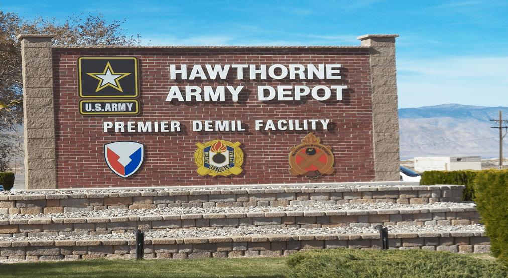 Hawthorne Army Depot Housing Gets Low Score