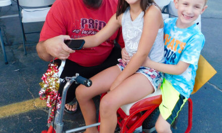 Raffle, Cruise Brings out Local Crowd