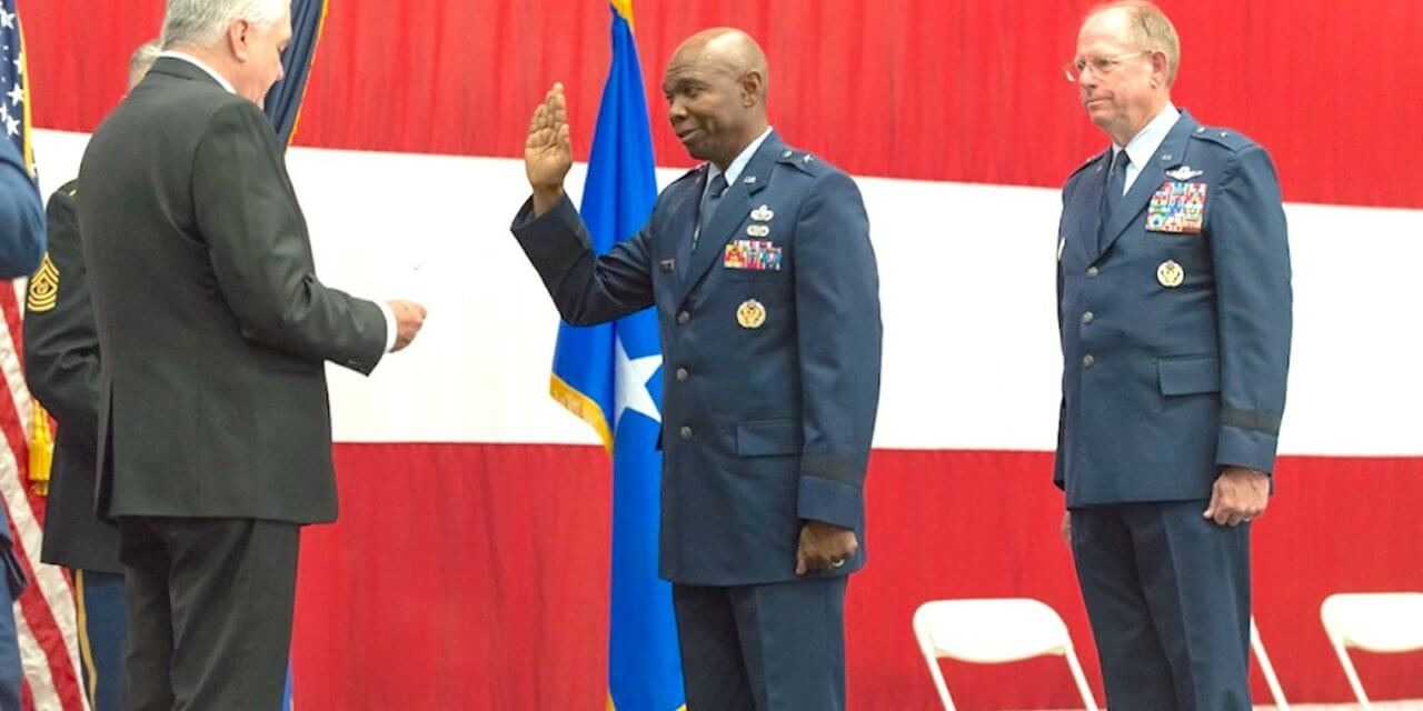 Berry Assumes Command as State's New Adjutant General