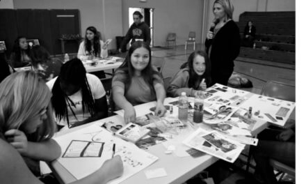 Local Students Benefit from Soroptimist's Training