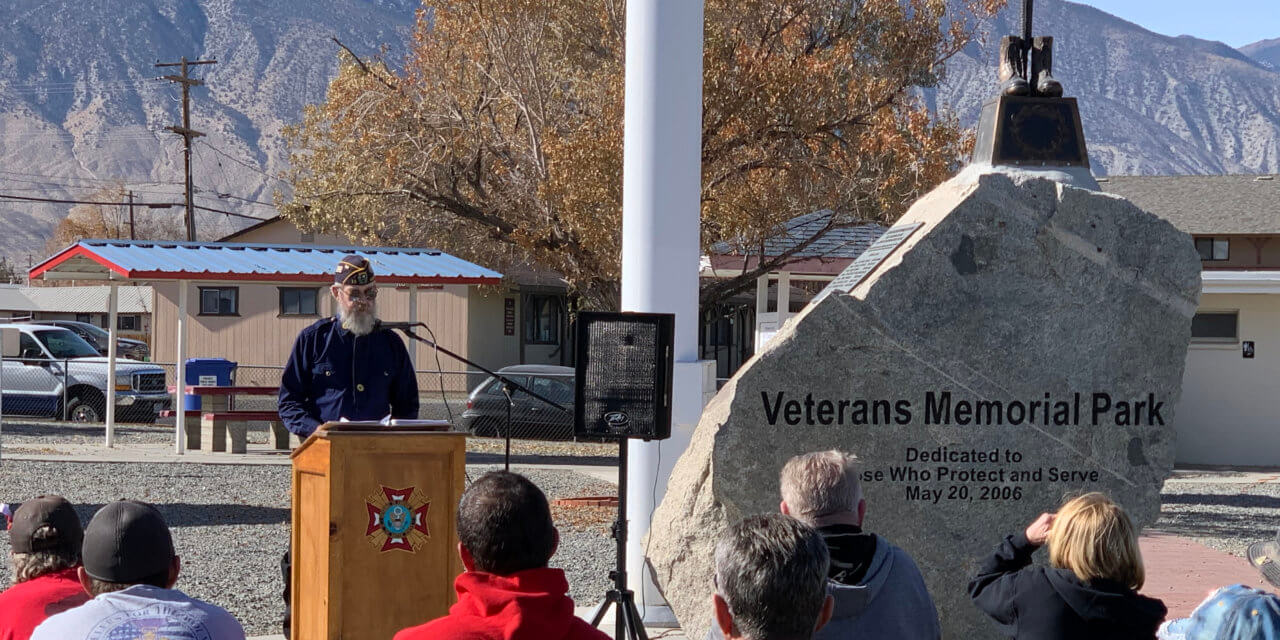 Solemn Veterans Day Ceremony Held in Hawthorne