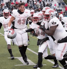 UNLV Slips Past Nevada 33-30 in Overtime