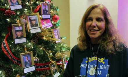 Christmas Tree for Fallen Soldiers helps Gold Star Families Honor their Loved Ones During Difficult Holiday Season