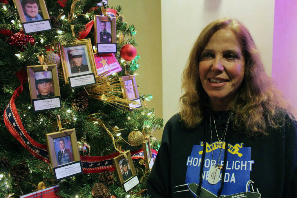 Atlantis Reno Christmas 2020 Christmas Tree for Fallen Soldiers helps Gold Star Families Honor