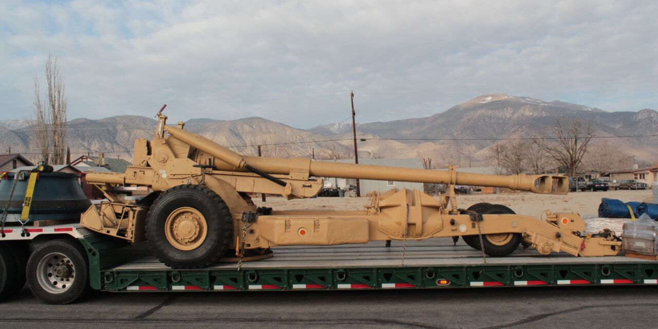 Hawthorne Ordnance Museum acquires military war machine