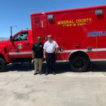 New county ambulance is now in service