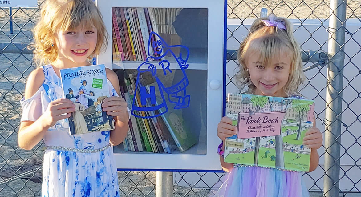 Lending Library comes to life at Hawthorne Elementary School
